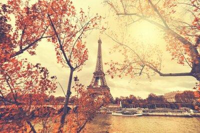 Sticker The eiffel tower in paris