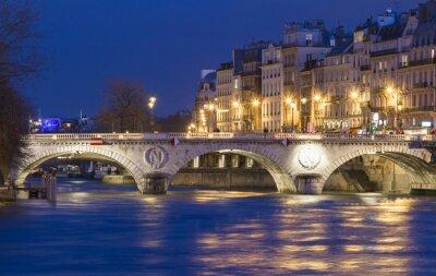 Sticker The pont Saint Michel , Paris, France.