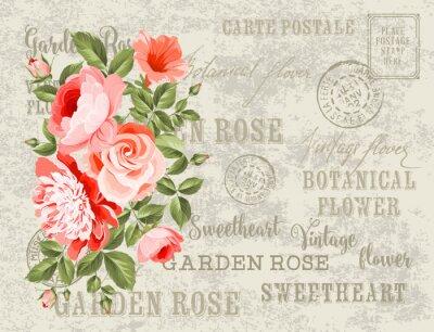 Sticker The Wedding Card.
