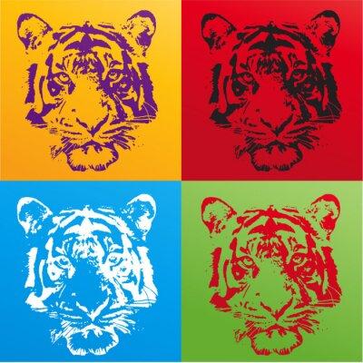 Sticker tigre