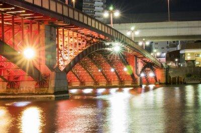 Sticker Tokyo Night Bridge