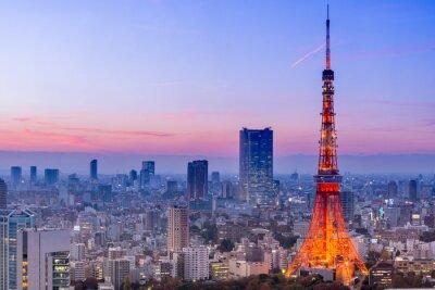 Sticker Tokyo Tower, Tokyo, Japan