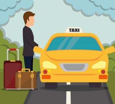 Sticker transport service design