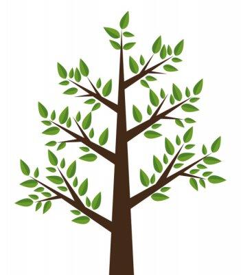 Sticker tree plant design