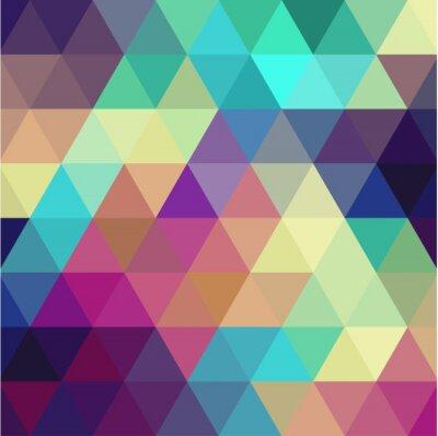 Sticker Triangle background