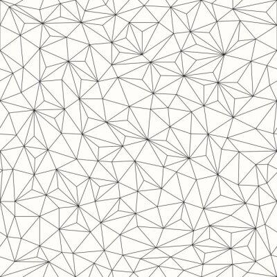 Sticker Triangles background, seamless pattern, line design