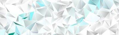 Sticker Triangular 3d, modern background