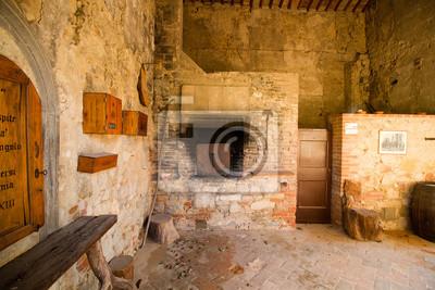 tuscany convent near siena