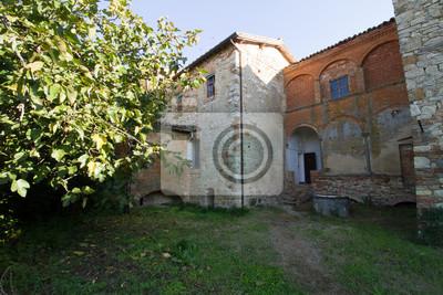 tuscany convent near siena italy