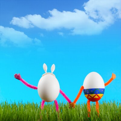 Two funny Easter eggs