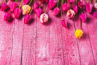 Various tulips