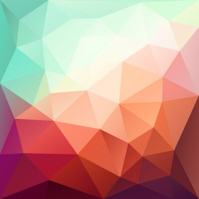 Sticker Vector abstract geometric background with triangle