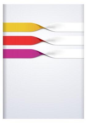 Sticker Vector faq labels, three option