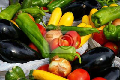 Vegetables sun