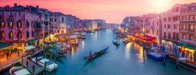 Sticker Venedig Panorama