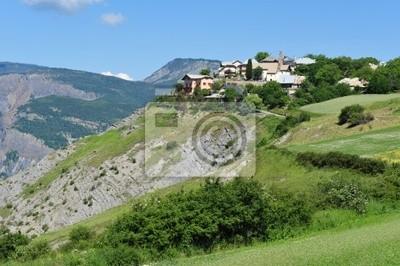Village de Sauze  haute-alpes