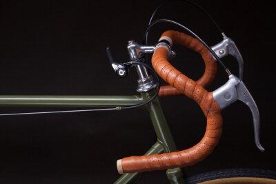 Sticker Vintage bicycle handlebar