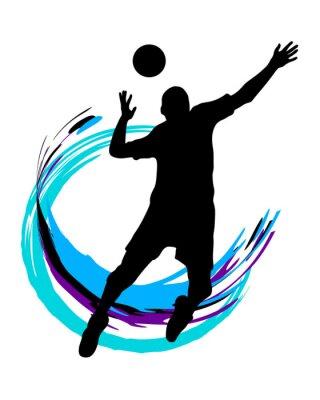 Sticker Volleyball - 89