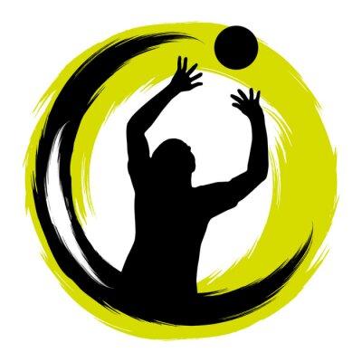 Sticker Volleyball - 99