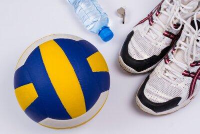 Sticker Volleyball set.