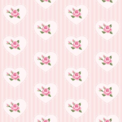 Sticker Wallpaper with roses 5