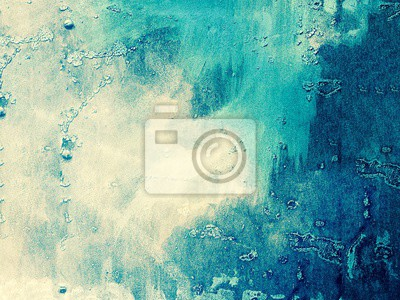 Sticker White and blue abstract background