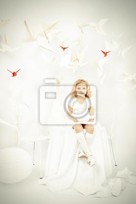 Sticker whiteness