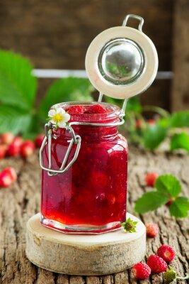 Sticker Wild strawberry jam.