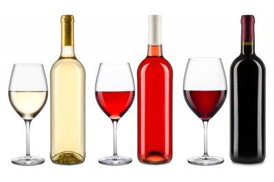 Sticker wine collection