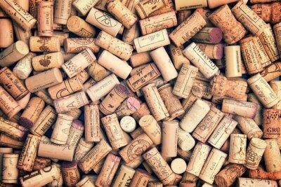 Sticker Wine corks background