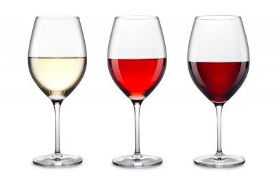 Sticker wine glass set