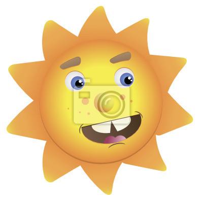 Векторное изображения солнца