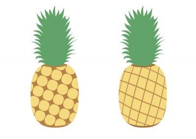 Sticker イラスト素材「パイナップル」