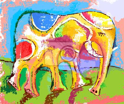 Sticker Слон