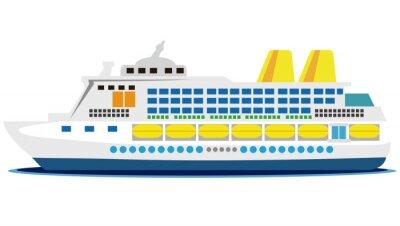 Sticker 大型客船