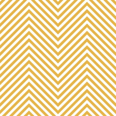 Sticker Zigzag Yellow Pattern. Wave Background in Vector