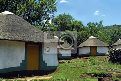 zulu, huts